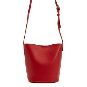 F21 Faux Leather Crossbody Bag